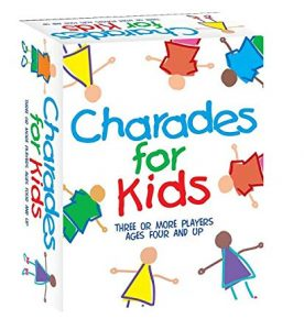 Charades for Kids board game for kids