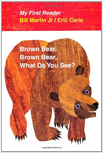 Book Brown Bear, Brown Bear, What Do You See?
