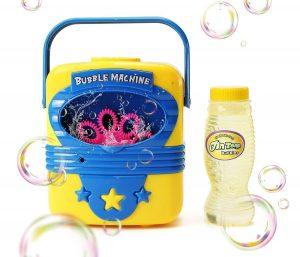 Automatic bubble making machine