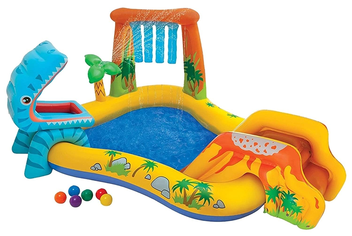 inflatable pool outdoor toy for kids