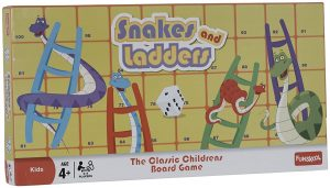 Snakes and Ladders best board game for toddlers and preschoolers