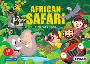 African Safari best board game for toddlers and preschoolers