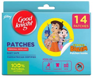 Good Knight Patches Personal Mosquito Repellent