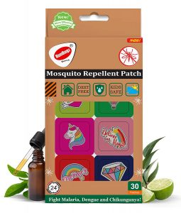 Runbugz Mosquito Repellent Printed Patches