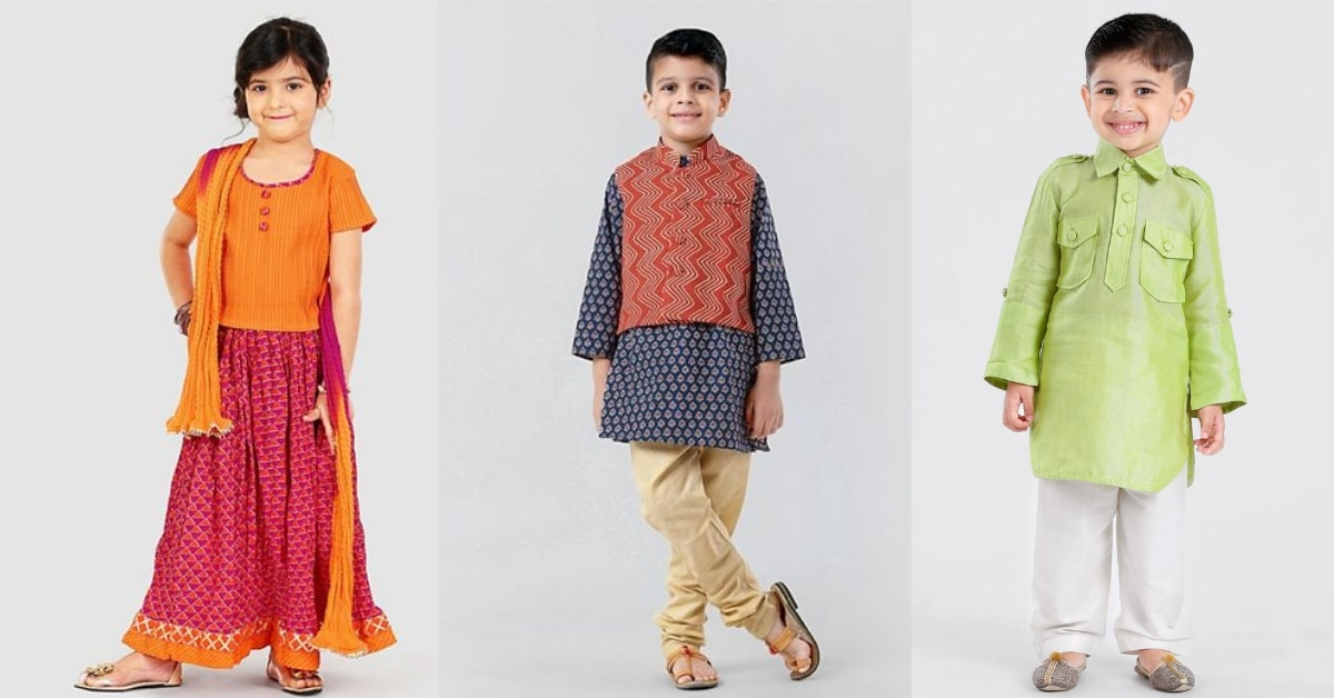 Best Stores to buy Ethnic Wear for Kids in Jaipur