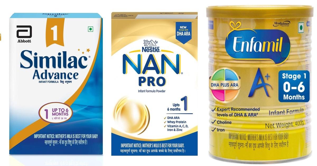 Best Formula Milk for Baby ( 0-6 Months )