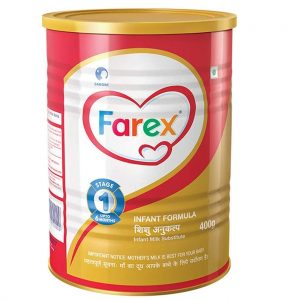 Farex milk powder for babies