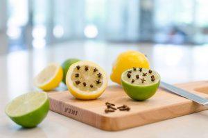 lemon and cloves