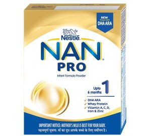Nestle NAn pro Milk Powder for Babies best formula milk for baby 0 6 months available in India