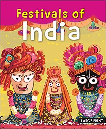 Large Print: Festivals of India