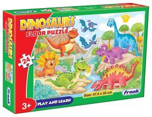 Frank Dinosaur theme 24 Pieces Best Puzzles for Kids Online