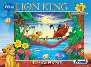 Frank Disney's The Lion King Puzzle 108 pcs set