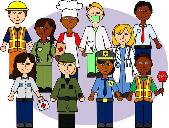 General Knowledge for kids community helpers