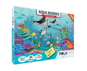 Pola Puzzles Aqua Buddies 60 Pieces Puzzles