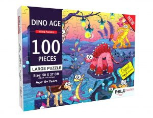 Pola Puzzles Dino World 100 pc Best Puzzles for Kids Online