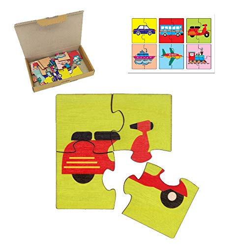 R K Cart Transport Vehicles Simple Puzzles for Kids