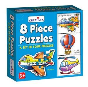 Creative Educational Aids 8 Piece Puzzles