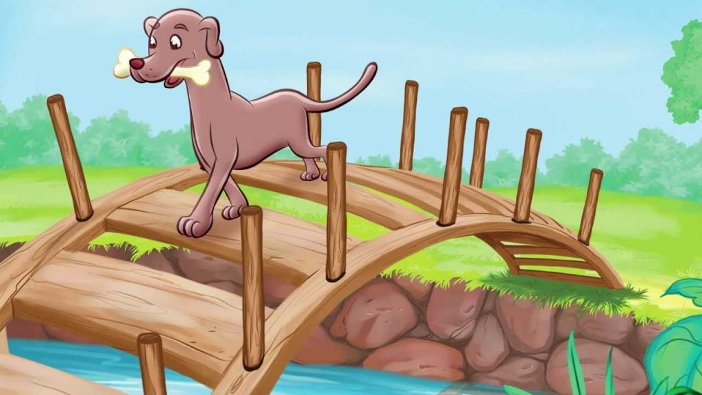dog and the Bone moral stories for kids
