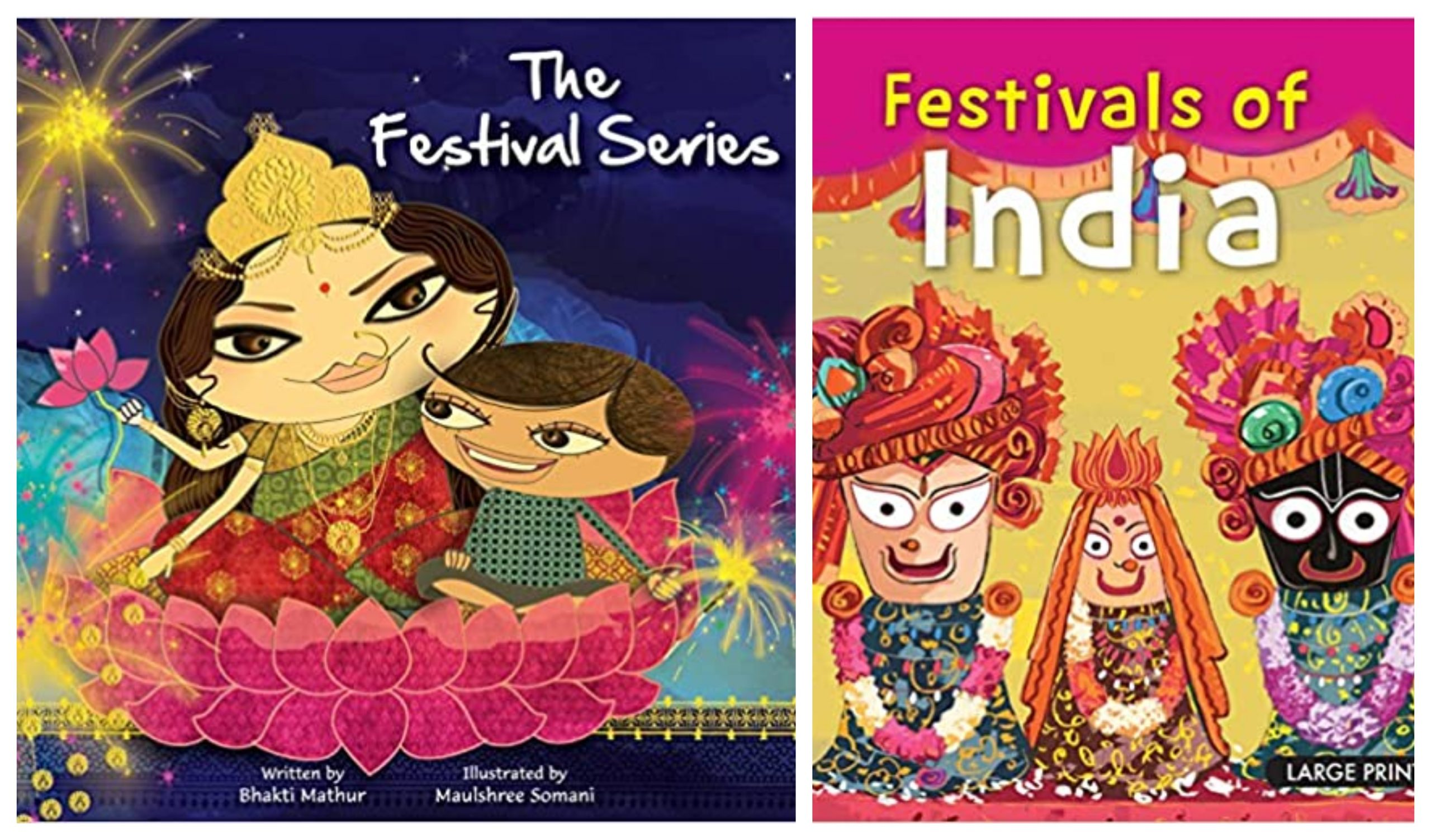 Childrens books on festivals of India