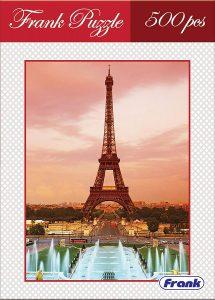 Frank Eiffel Tower Puzzle 500 pcs Best Puzzles for Kids Online