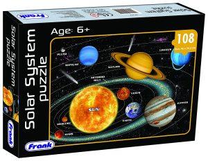 Frank Solar System Puzzle 108 pcs