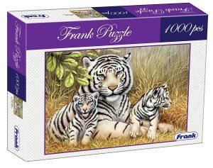Frank White Tigers Puzzle 1000 pcs Best Puzzles for Kids Online