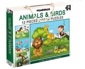 Wondrbox Jigsaw 12 best Puzzles for Kids Online