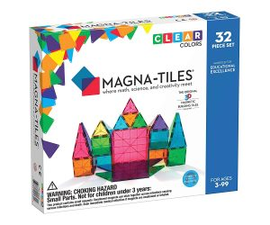 magna tiles 32 pc set best educational toys for 3 years old kids