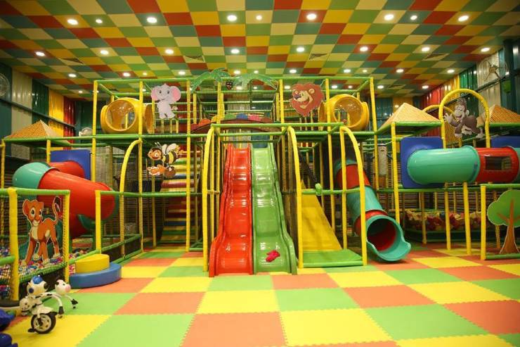 Fun Factory soft play area in Jaipur