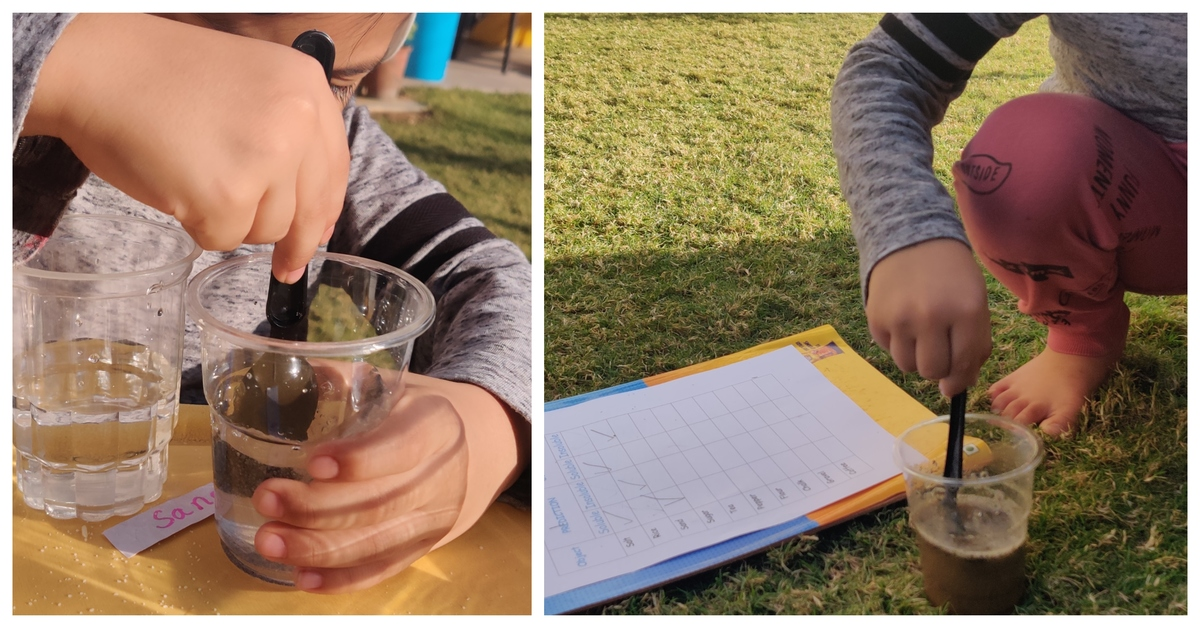 Soluble and Insoluble Experiment for Kids