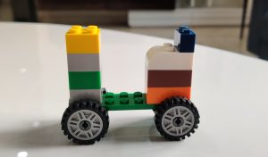 Step 6 Lego Scooter