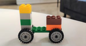 Step 4 lego Scooter