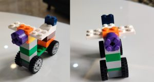 Step 8 Lego Scooter