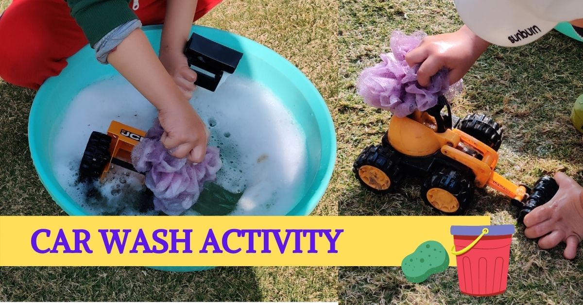Car Wash Activity for Kids