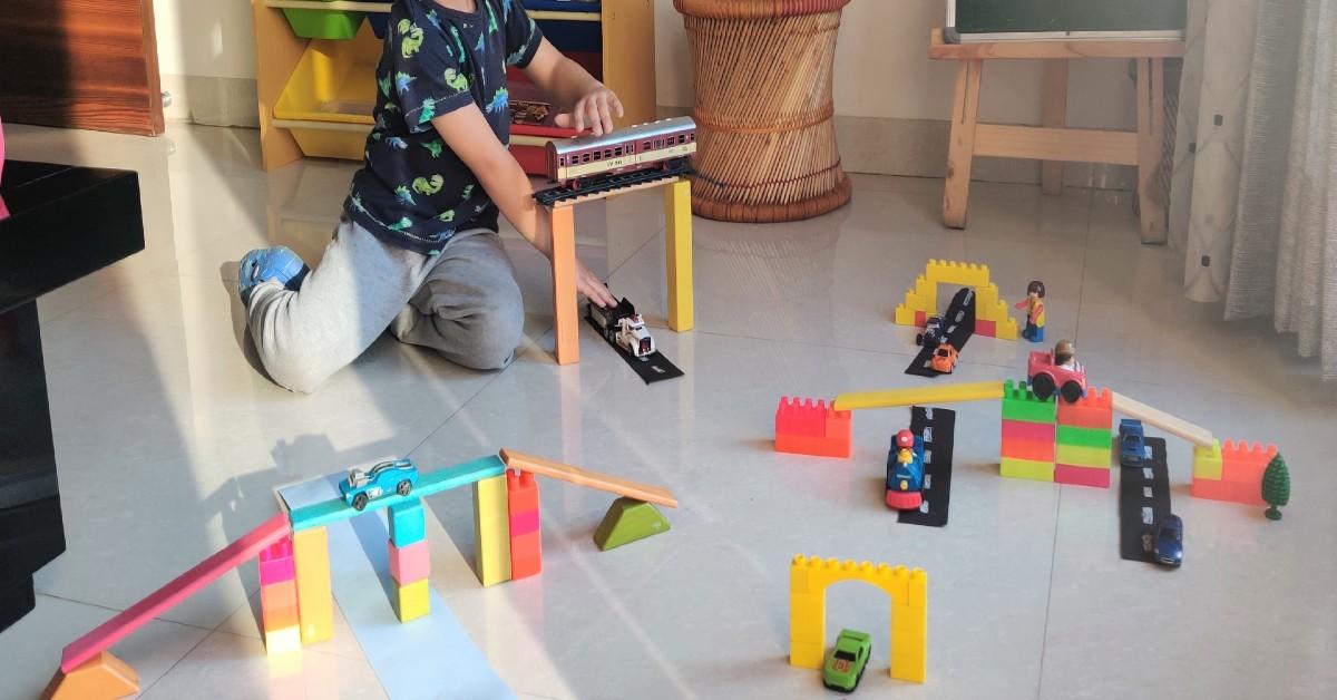 Building Bridges Engineering Activity for Kids