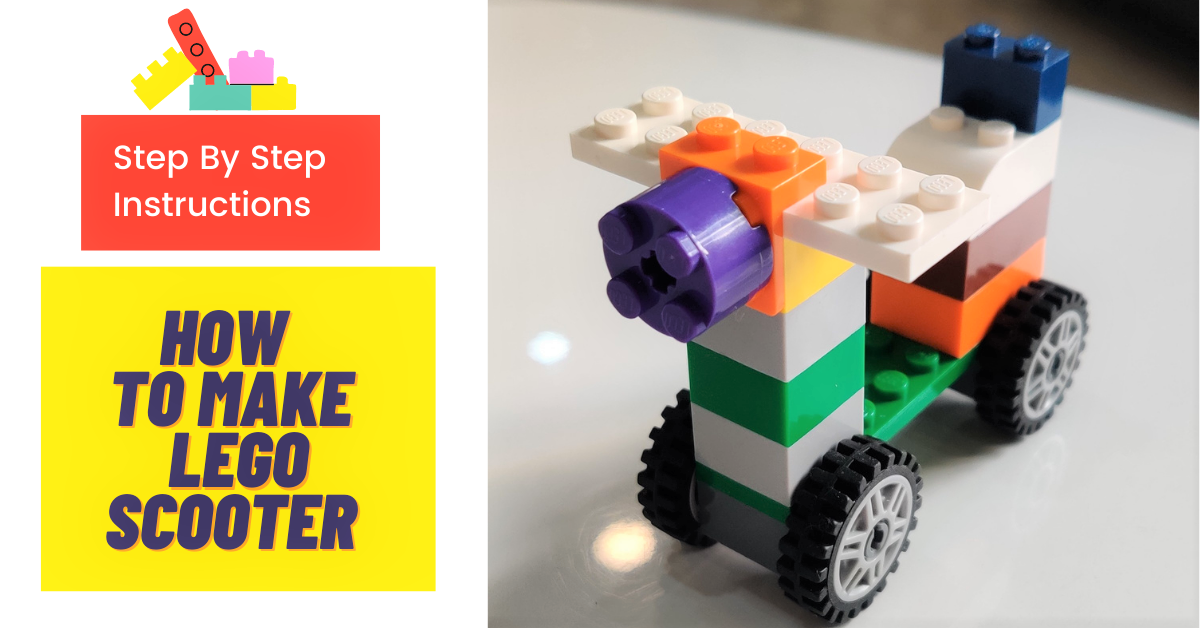 how to make Lego scooter