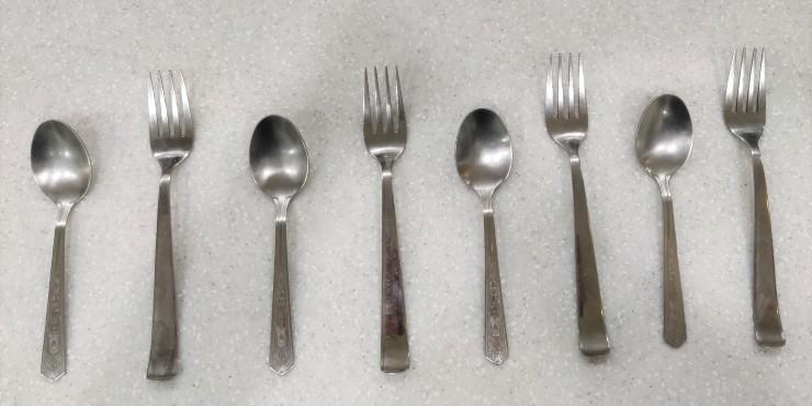 Pattern with Kitchen utensils