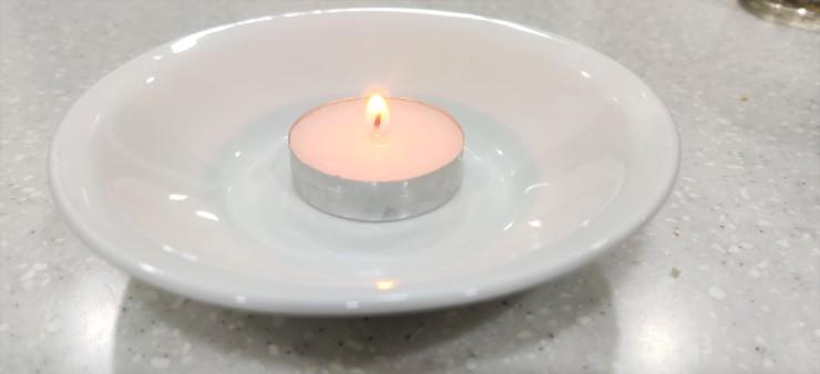 Light Tea Candle