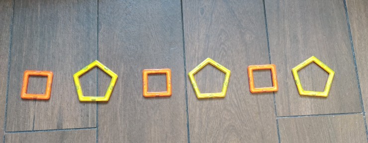 Teach Shapes Pattern to Preschoolers
