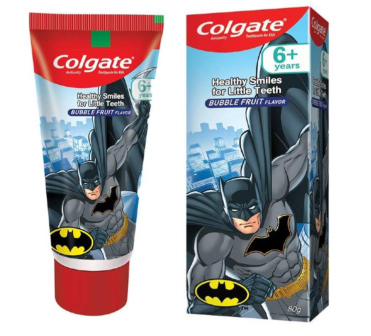 Colgate Batman Anticavity Toothpaste For Kids
