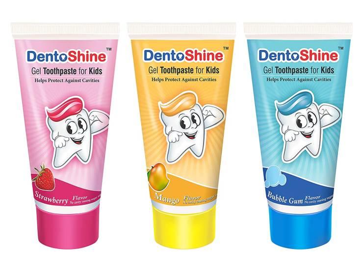 DentoShine Gel Toothpaste for Kids