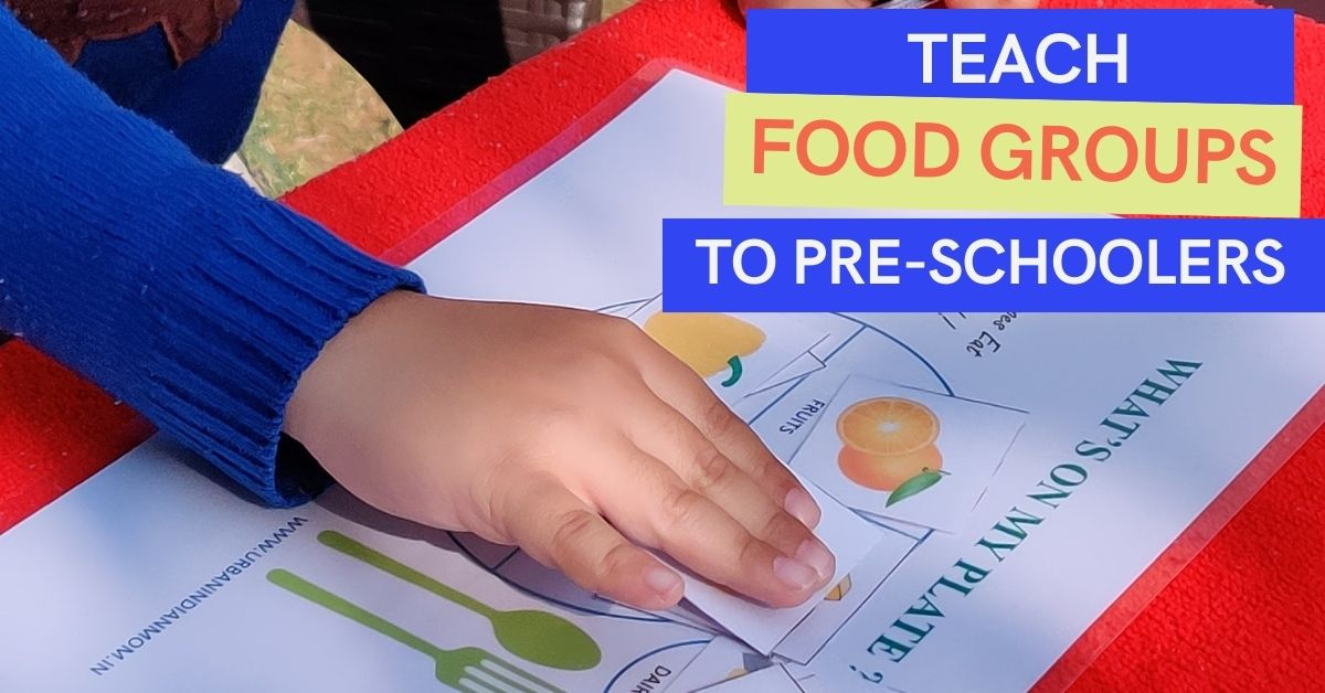 Teach Food Groups to Preschoolers