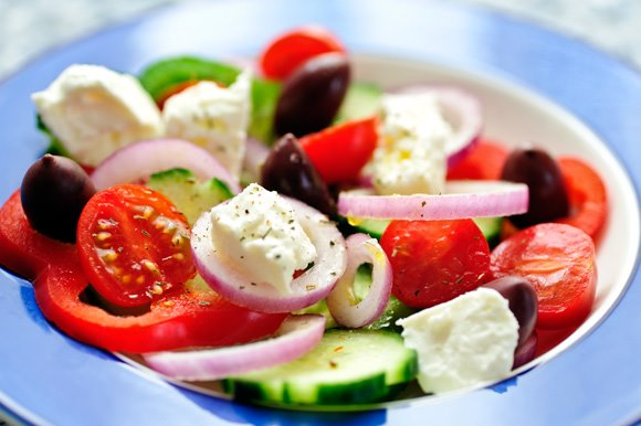 Salad at anokhi cafe Best Breakfast Places in Jaipur