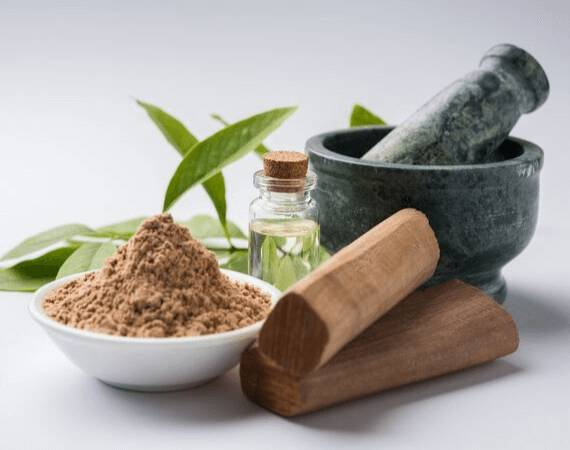 Sandalwood and Rose water face pack to remove sun tan naturally