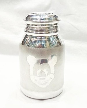 Silver Bottle for Babies