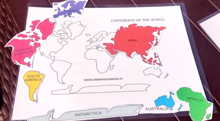 match the continents