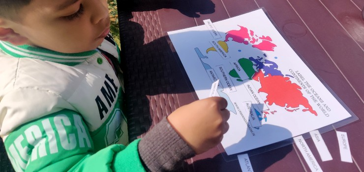 Teach about Continents in the World