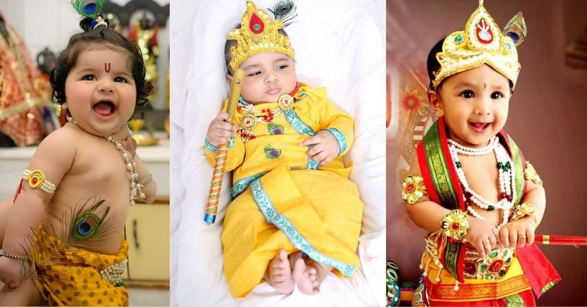 Krishna Costume Ideas for Kids