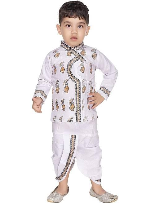 New Gen White Krishna Costume