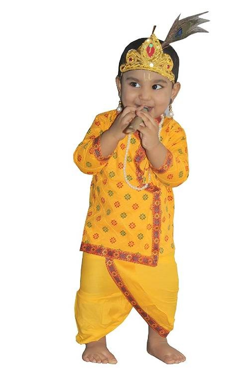 kaku fancy dress krishna costume
